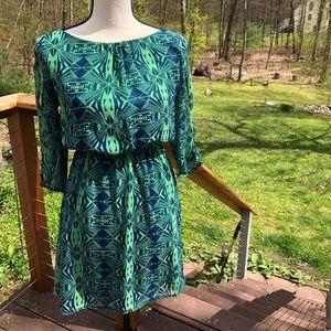 Tribal Print Dress | Hello Miss
